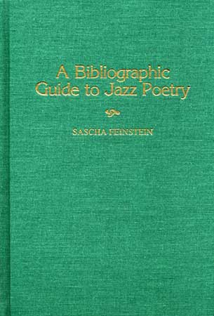 A Bibliographic Guide to Jazz Poetry Cover